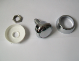 Multiflush Replacement Round Single Flush Button - 08000414